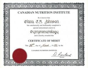 Symptomatology Cert (1)