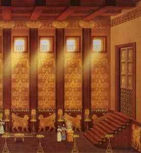 Cedar temple