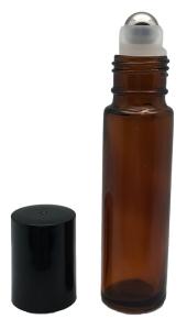 amber roller bottle