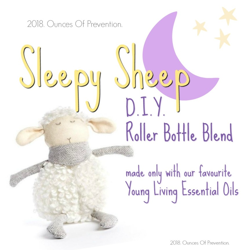 Sleepy Sheep Roller Bottle DIY