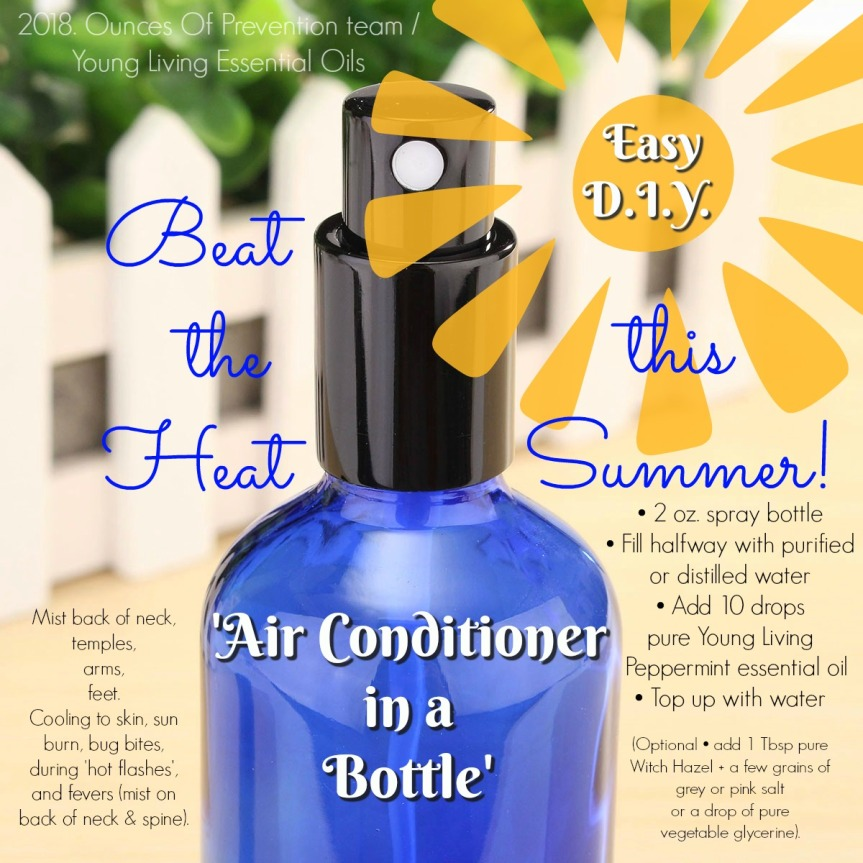 Air Conditioner In A Bottle