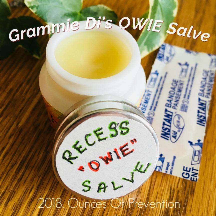 Grammie Di's Owie Salve copy